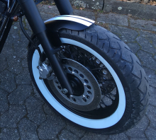 "BR FRONTFENDER / GFK Roadkiller / ""shorty"" / 130er Rad"