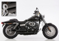 Preview: ANGEBOT: Falcon Double Groove / Komplettanlg. / KAT / black / HD Dyna Fat Bob / ab 2008 / ABE