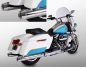 Preview: MILLER 2-2 SlipOn / Harley Softail Fat Boy / silber / Anlage MONTANA  / EG-BE