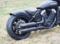 Preview: Vorführer: MILLER  YUMA II  / EURO 4 - SlipOn / black / Indian - Scout Sixty Bobber - 1000 ccm / EG-BE