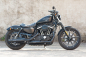 Preview: PENZL V2-Speed Auspuff elek. verstellb. / black ceramic / Harley Sportster  / 2004 - 2016 / EG-BE