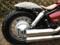 Preview: Vorführer: Falcon Double Groove / HONDA VT 750 Shadow / 2004-2007 / Komplettanlg. / poliert / ABE