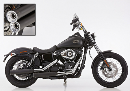 ANGEBOT: FALCON Double Groove / Harley Street Bob / SlipOn / black / 06 - 16 / ABE