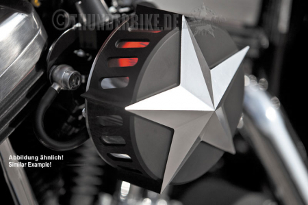 "TB POWERLUFTFILTER-KIT ""OPEN STAR"" Bicolor / 3D / HD-SPORTSTER ab 2007 / TÜV"