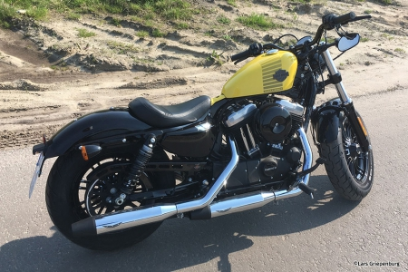 PENZL V2-Speed Auspuff elek. verstellb. / chrom / Harley Fat Boy / 2018 /ABE