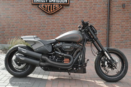 Aussteller: PENZL V2-Speed X-PIPE - elektr. verstellb. / black ceramic / Harley FXDR 114 / ab 2019 / EG-BE