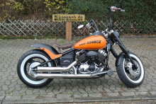 Yamaha XVS 650/1100 HOT-BOBBER OLDSTYLE ORANGE
